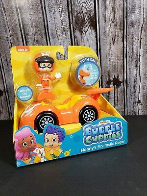 BUBBLE GUPPIES Nick Jr NONNY'S FIN-TASTIC RACER Car Nonny NIB  ()