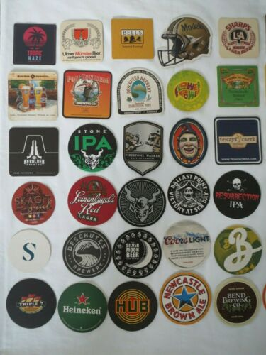 Craft Beer Coasters Wholesale Lot 35 Brand New Beer Brew Pub Brewery Coasters