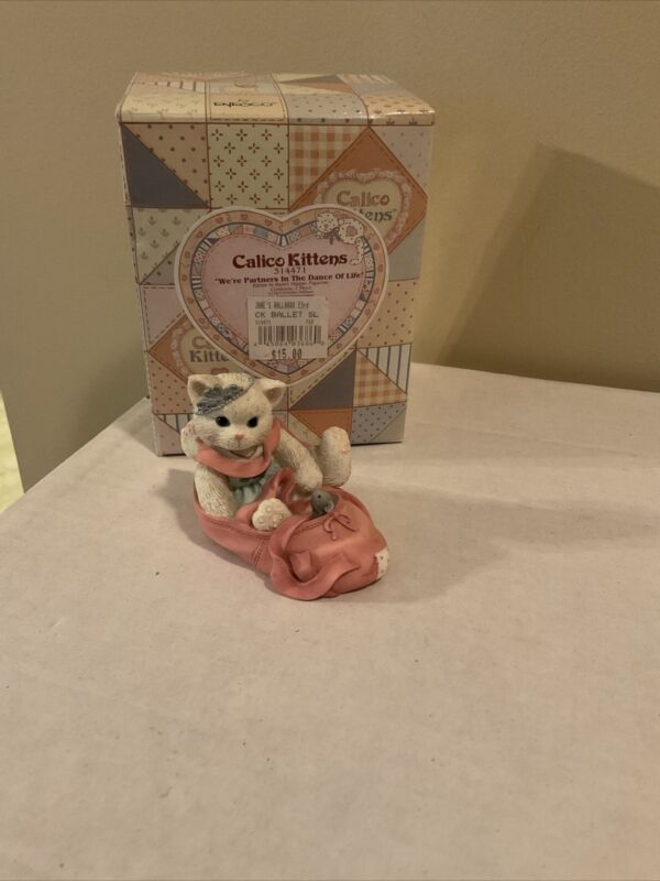 "Calico Kittens ""We're Partners in the Dance of Life"" 1997, #314471, Box"