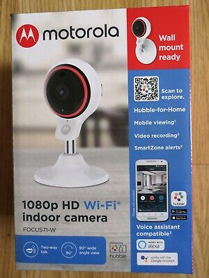 Monitor baby Motorola 1080p HD Wi Fi Indoor Camera Brand New