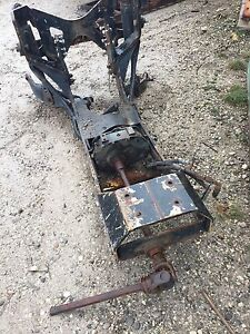 Front Mounted PTO for John Deer Tractor