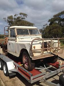 2 Land Rover utes - Series 2A ?? Welshpool Canning Area Preview
