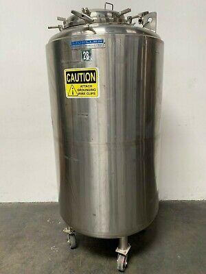 Paul Mueller 1100 Liter- F Stainless Steel Triple Jacketed Reactor 50 Psi