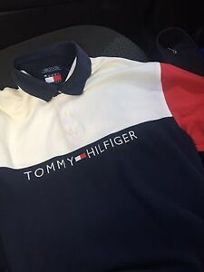 Vintage Tommy Hilfiger mens polo shirt size medium