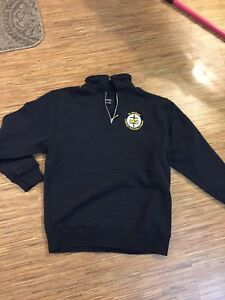 St. Mikes girls 1/4 zip sweatshirt