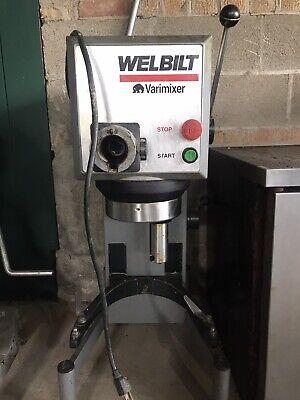 Used Welbilt Varimixer W20 20 Quart With Bowl 115v 1 Phase 1hp