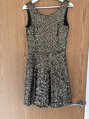 Ladies Good Sequin House Of Holland Dress Size 10