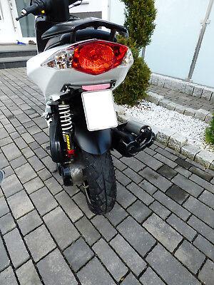 Gebraucht, Kennzeichenhalter Peugeot Speedfight 3 LC AC 50ccm Schwarz gebraucht kaufen  Fulda