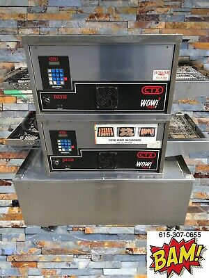 Ctx Wow2-900 Degrees-18 Conveyor Oven-split Belt-electric-1 Or 3 Phase -1 Oven
