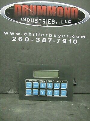Mcquay Display Interface Panel Hmi Membrane 654972b-01 Display Board Varies