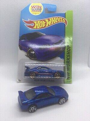 Hot Wheels Nissan Skyline GT-R ( R34) Then And Now 2014 Blue +Skyline GTR33