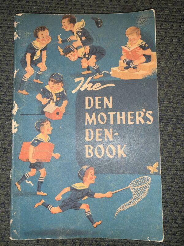 1955 Boy Scout Den Mother's Denbook  BSA
