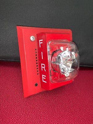 Siemens Cerberus Pyrotronics I-sm70-s75s Fire Alarm Speakerstrobe
