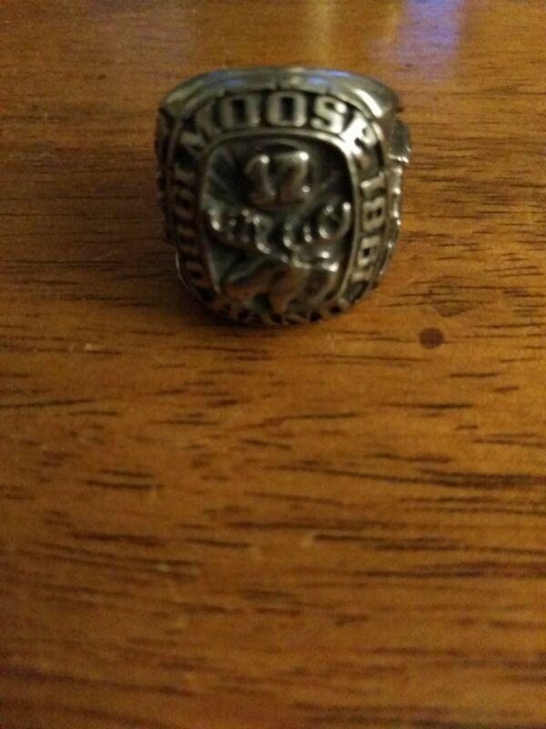 Moose Hand 12 Ring Size 8.5 Men