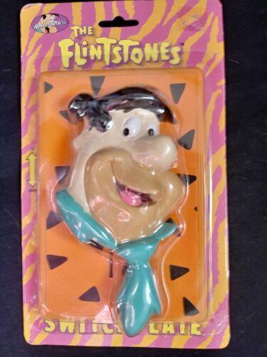 Vintage 1993 Fred Flintstones Switchplate in Original Sealed Packaged