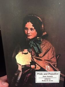 Pride and Prejudice by Jane Austen & Edited by Robert. P Irvine