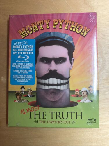 Monty Python Almost The Truth Blu-ray , Terry Gilliam,Eric Idle,John Clees - $15.00