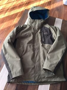 North face men's medium 3 in 1 jacket