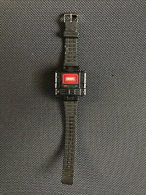 80s Vintage Takara Tech Fone Watch - Transformer Robot Kronoform As-Is