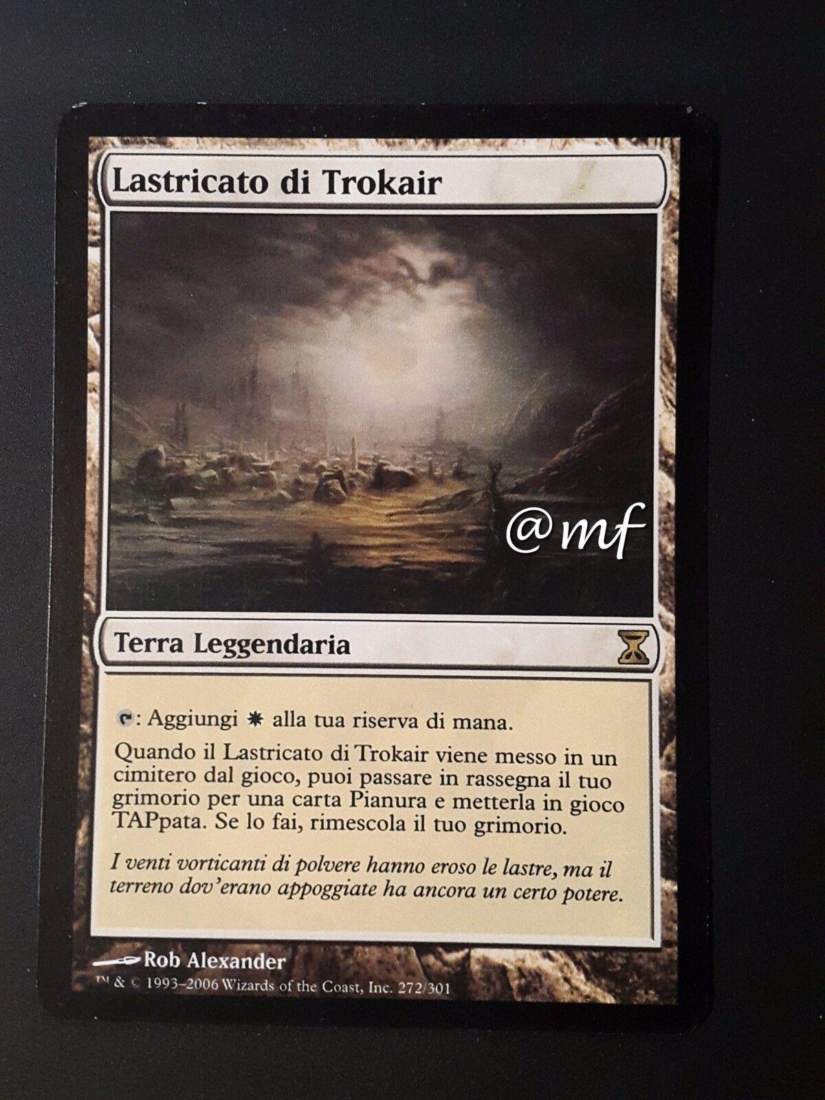 LASTRICATO DI TROKAIR - FLAGSTONES OF TROKAIR ITA -  MTG MAGIC [MF]