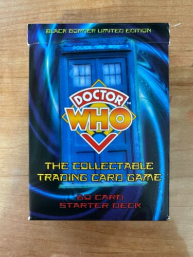 Doctor Who - Black Border Edition - Collectable Trading Cards - Starter Deck