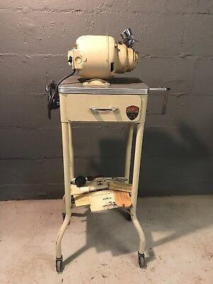Gomco Aspirator Industrial Stand Table Dental Dentist Medial Equipment Steampunk