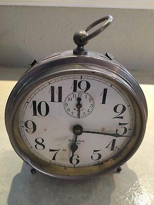 Antique Westclox Big Ben Peg Leg Alarm Clock 1925 / Working Condition