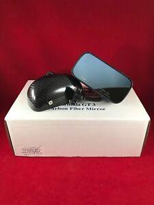 APR Performance Formula GT3 Carbon Fiber Side Mirrors w/ Blue Tint Universal NEW