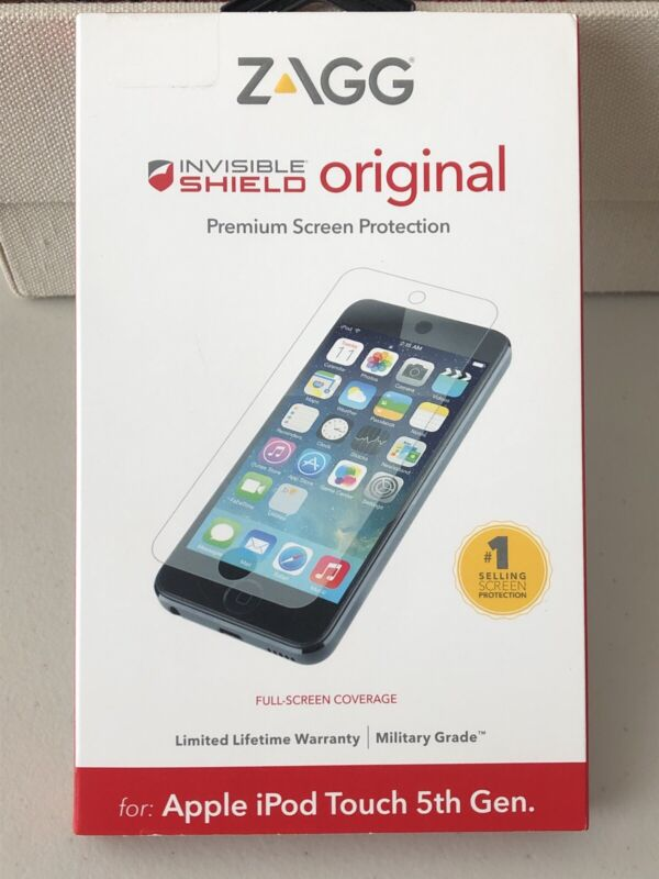 ZAGG Invisible Shield iPod Touch 5th Generation New Sealed Z40