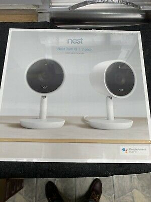 Nest Cam IQ NC3200US 1080p Indoor Security Camera - White