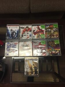 PS3 with 1 controller 9 games and Sony headset Kitchener / Waterloo Kitchener Area image 3