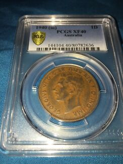 Australian 1940 penny