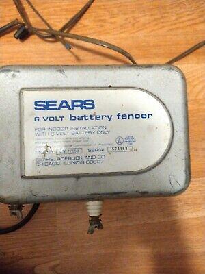 Vintage Sears Electronic Fencer Model 436.77650 For Partsrepair Only.