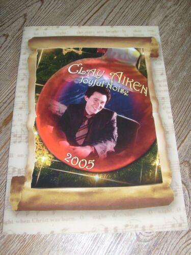 Clay Aiken Concert Program  2005  The Joyful Noise Tour