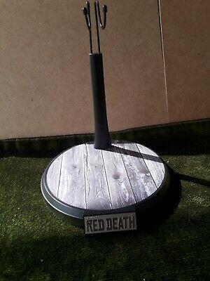1/6 RED DEATH WILDERNESS RIDER COWBOY STAND BOARD FLOOR IMITATING SALOON NO...