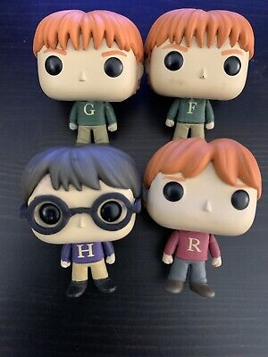 4 Funko Pop Mini 2018 Advent Calendar Harry Potter Ron George Fred Weasley