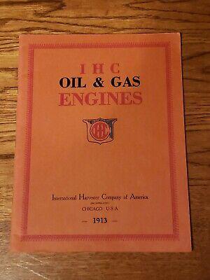 Ihc International Harvester Oil Gas Hit Miss Engine