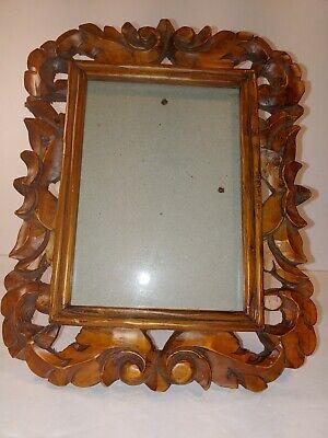 Vintage Solid Wood Picture Frame Ornate