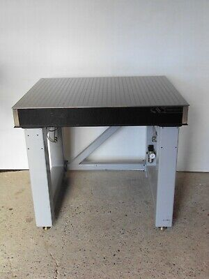Newport 3 X 3 Optical Breadboard Table Roll-around Pneumatic Isolation