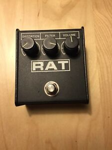 Early 90s Proco Rat 2 - USA  - lm308 - fuzz/distortion pedal