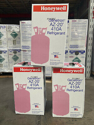 R410a, R410a HONEYWELL BRAND  25 lb. new factory sealed. FREE SAME DAY SHIPPING