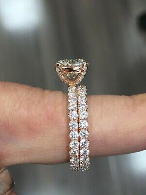 Genuine 1.25 Ct Round Cut Diamond Engagement Ring I,VS2 GIA White 14K Gold 7