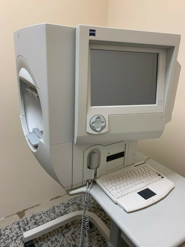 Zeiss Humphrey 750i HFA II Visual Field Analyzer w/ USB Port & Power Table