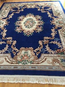 HAND KNOTTED ORIENTAL CHINESE RUG $700