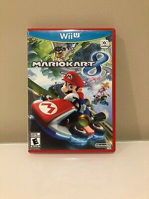 Nintendo Wii U Mario Kart 8 Complete w/ Manual Perfect Condition Tested!