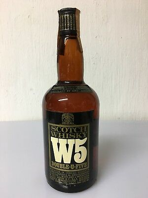 W5 Blended Scotch Whisky 75cl 40% Vol Vintage Aird Blenders