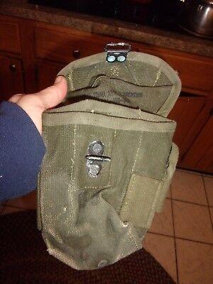 Vintage Vietnam Era Military Ammo bag - green  - LOTNAT