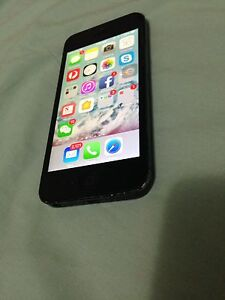 IPhone 5 unlocked 32GB Black Smithfield Parramatta Area Preview