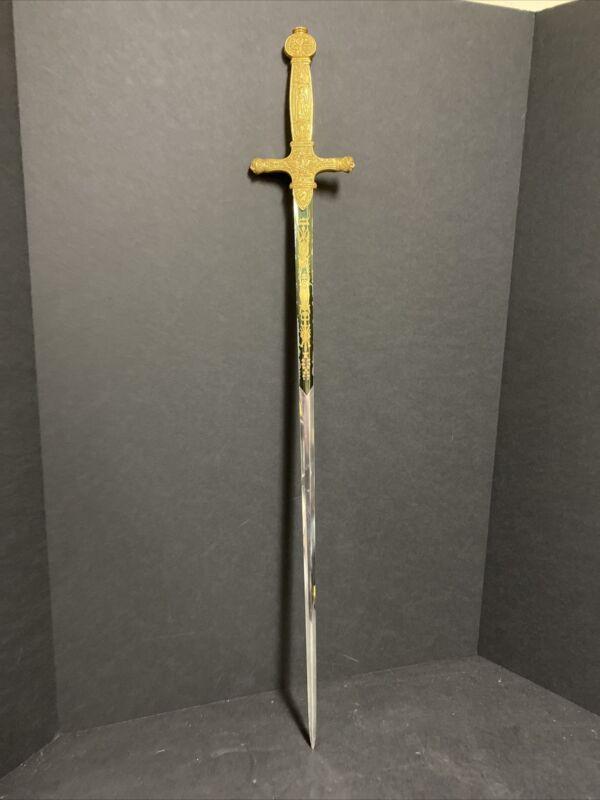 "Franklin Mint Sword 34"" Long"