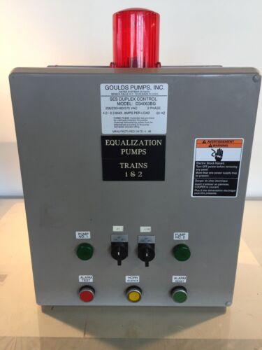 Gould Pump SES Duplex Control  Model D34063BG